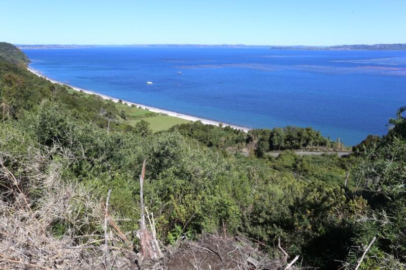 Campo Imponente Vista y Orilla de Mar - Quinchao