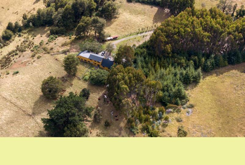 Hermosa y espaciosa casa en el campo