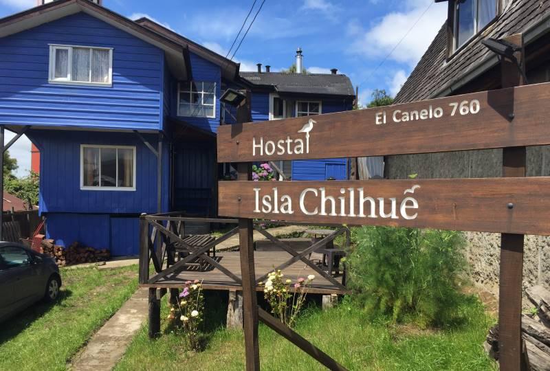 Casa Centro de Castro y Hostal Llave en Mano