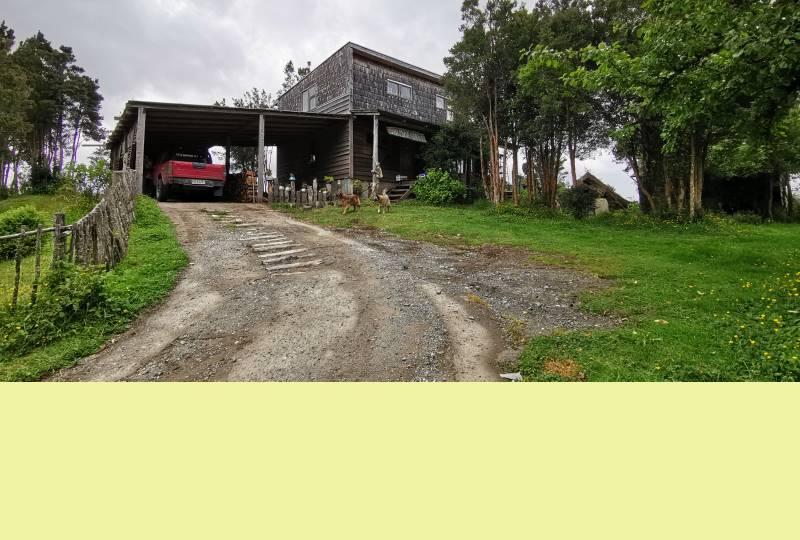 Casa en Parcela Río Carihueico